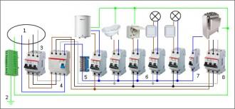 Схема подключения всех элементов