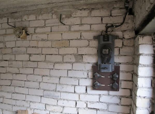 Прокладка провода в