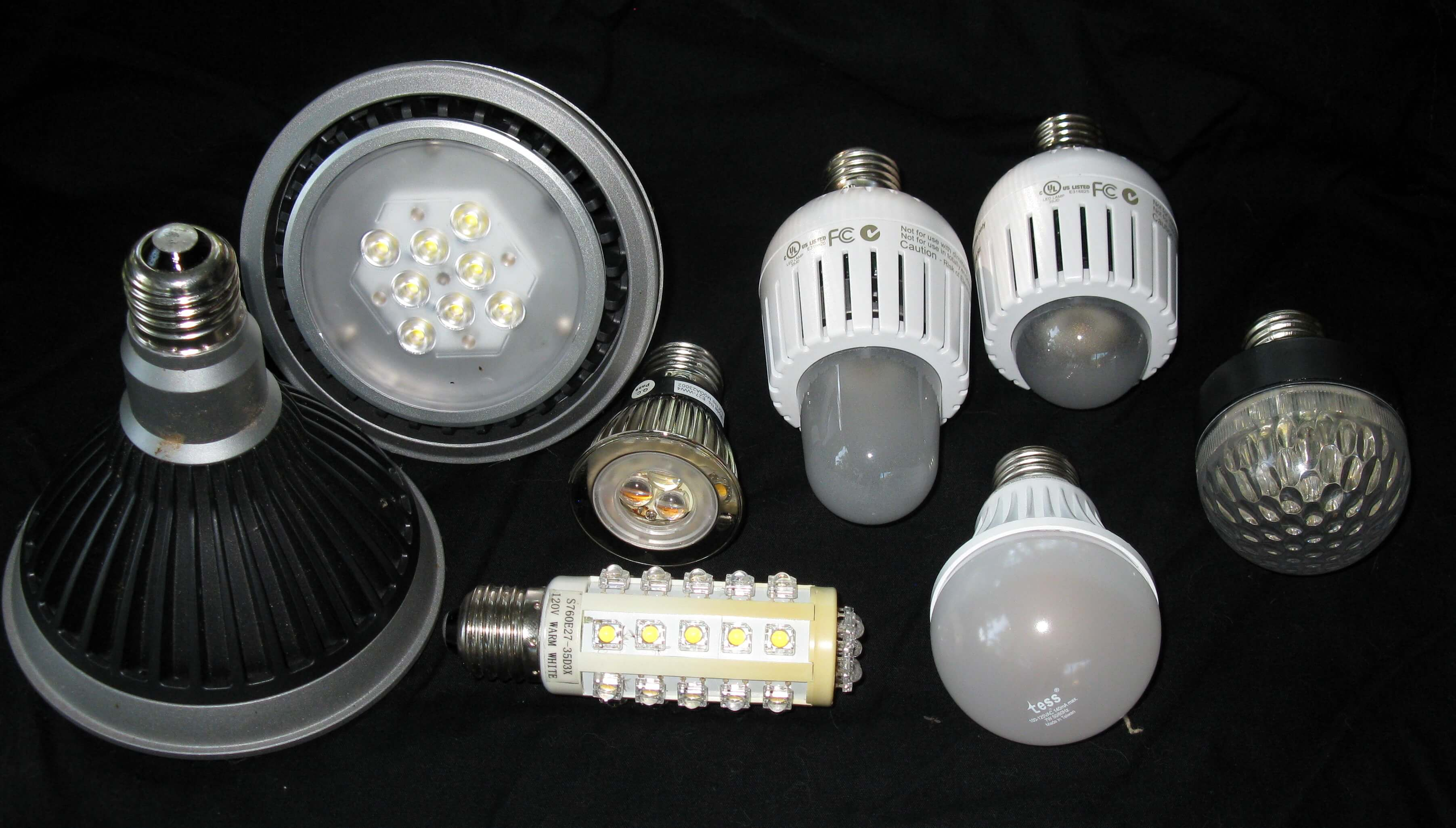 Современные источники света