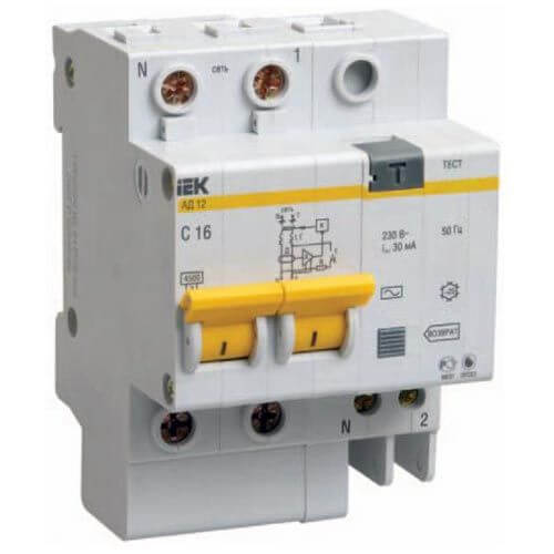 Дифференциальный автомат TDM-Electric АВДТ 63 4P C63 30мА SQ0202-0055