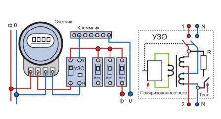 Двухпроводная электропроводка
