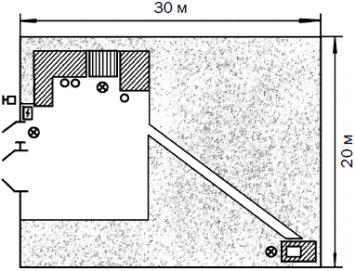 Схема уличного освещения частного дома