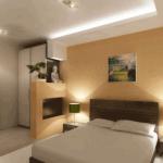 Современная спальня в дизайнерском исполнении