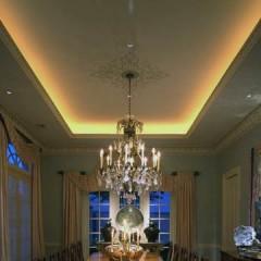 Как сделать скрытую подсветку потолка - 10 полезных советов