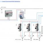 СхеСхема разводки проводов от щиткама установки УЗО