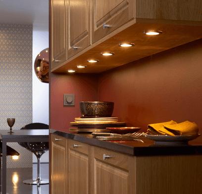 освещение для кухни светодиодное фото