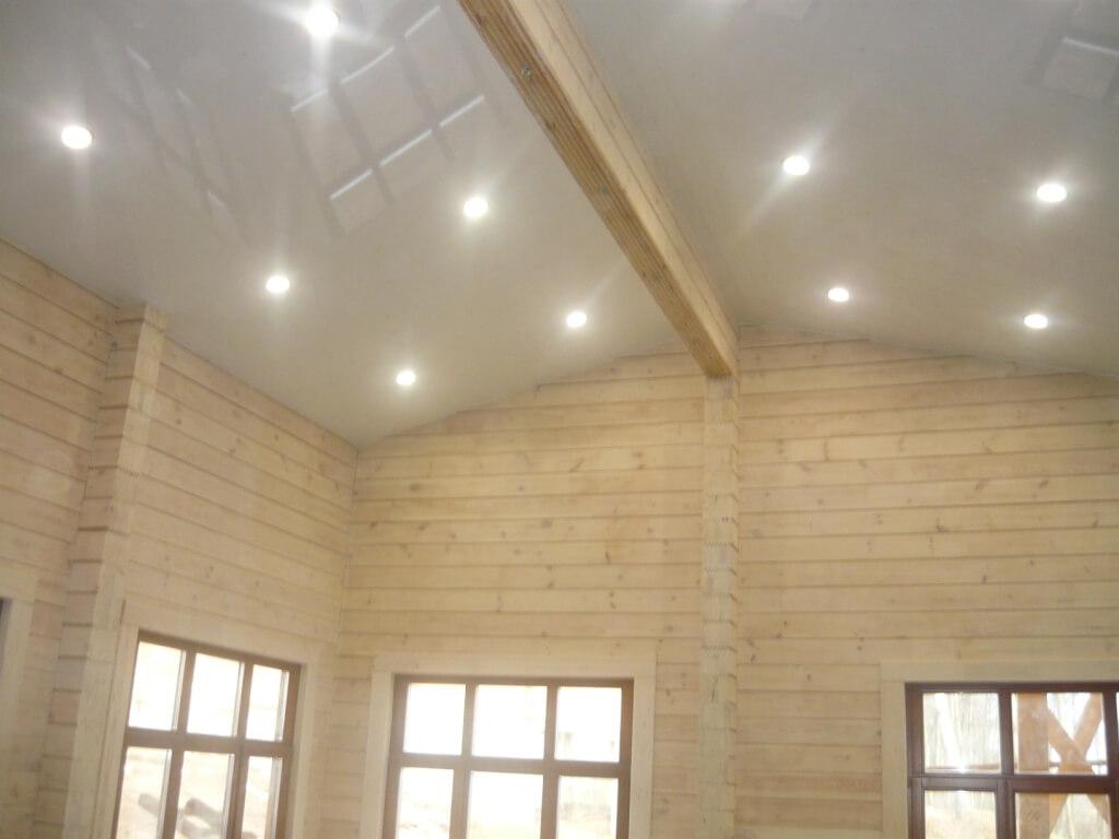 подключение потолочных свет схема