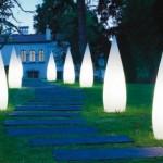Необычный дизайн уличных фонарей