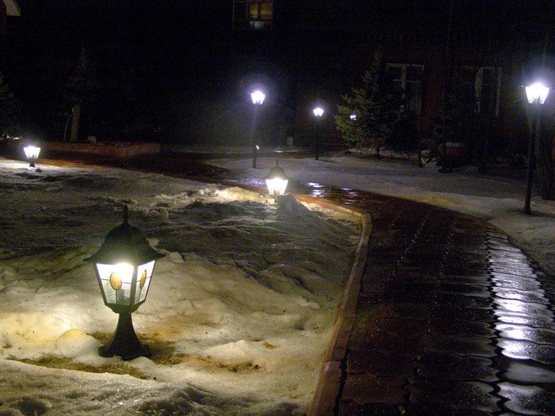 Фото уличные фонари на коротких ножках