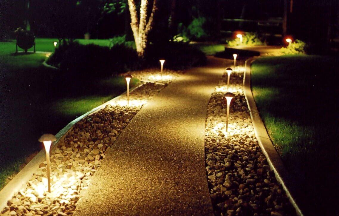 Освещение садовой дорожки своими руками фото 769