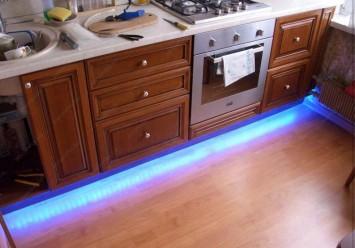Светодиодное освещение в доме своими руками
