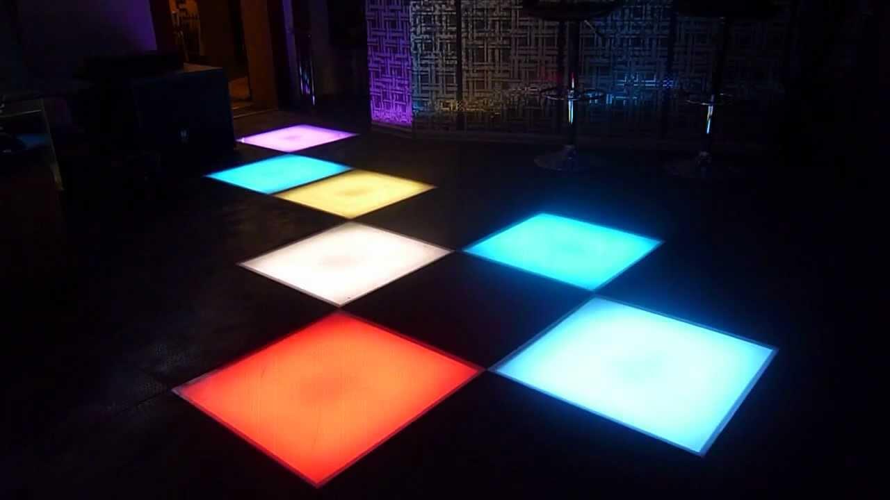 Танцпол светодиодный своими руками