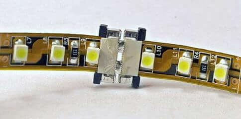 Коннекторы для соединения отрезков лент