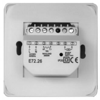 Терморегулятор (задняя панель)