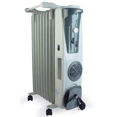 Встроенный тепловентилятор