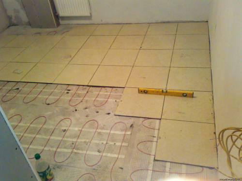 Отделка поверхности плиткой