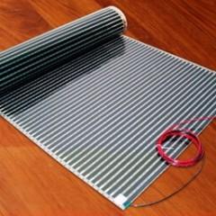 Укладка пленочного теплого пола под ламинат и паркетную доску