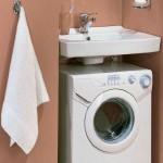 Экономия места в ванной комнате