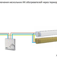 3 варианта подключения инфракрасного обогревателя