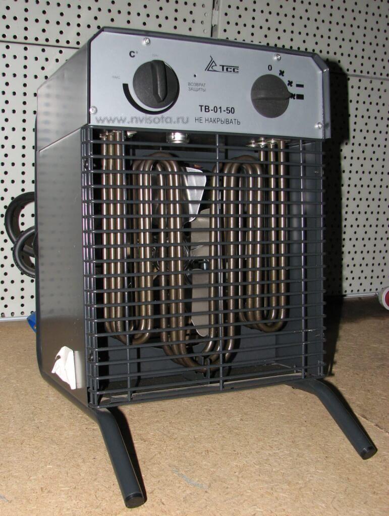Тепловентилятор электрический бытовой