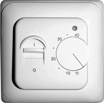 Терморегулятор (передняя панель)