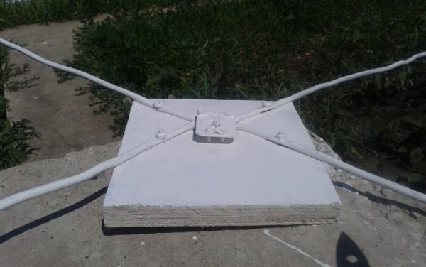антенна из медной проволоки для телевизора