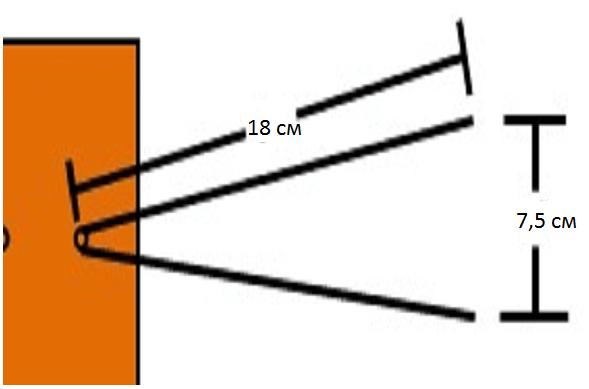 Схема установки уловителей