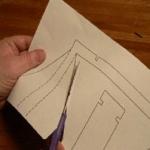 Вырезаем детали из схемы