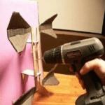 Крепление лепестков к рефлектору