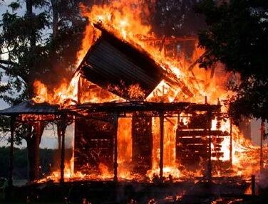 Пожар как последствие