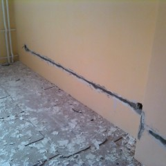 Как сделать скрытую электропроводку в квартире - пошаговая инструкция
