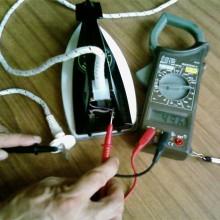 Ремонт утюга своими руками — 5 основных причин поломки
