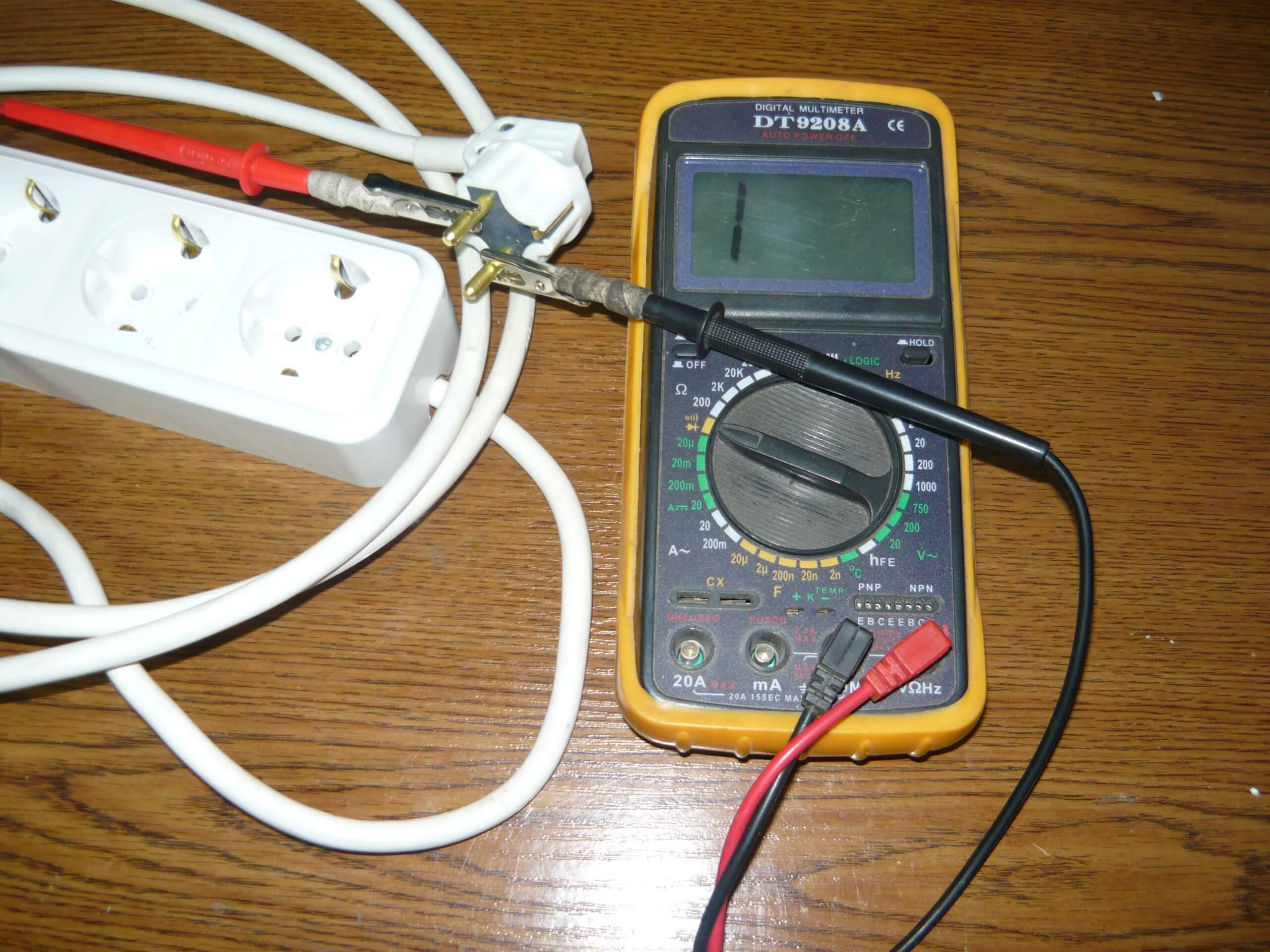 схема устройства прозвонки кабеля