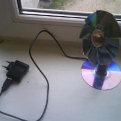 Как сделать USB вентилятор из подручных средств