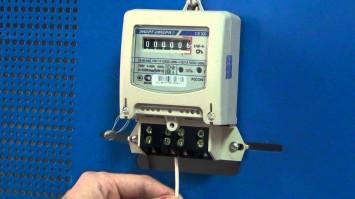Электросчетчик энергомера се 101