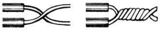 Схема скрутки проводов