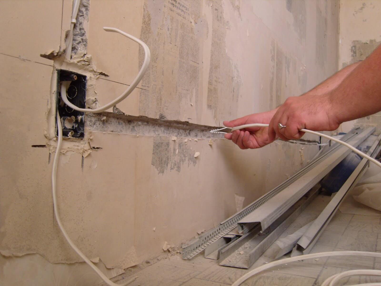 Прокладка антенного кабеля в квартире своими руками