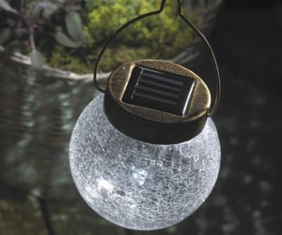 Подвесной фонарик для сада