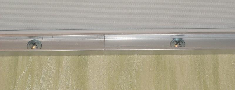Профиль для крепления скрытого потолочного освещения