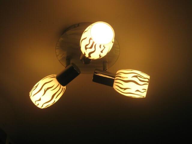 Пример - слишком тусклый свет