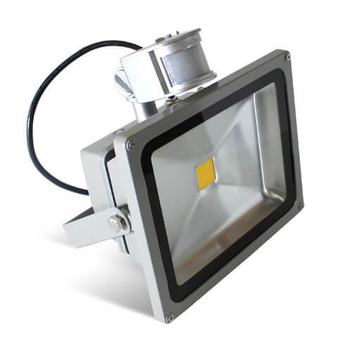 Фото прожектор с датчиком движения