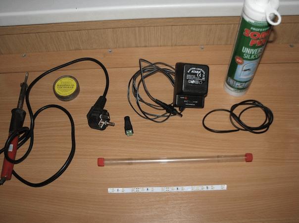 Материалы для подводной подсветки