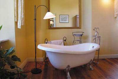 Идея освещения ванной комнаты