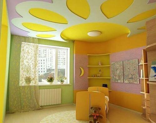 Хороший пример того, как должна освещаться комната малышей
