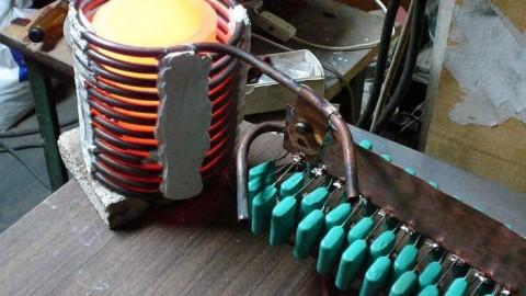 Самодельный индукционный котел – 2 варианта конструкции