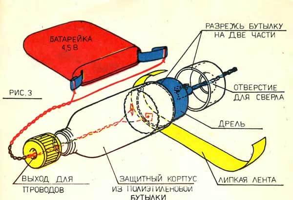 Схема самодельной микродрели