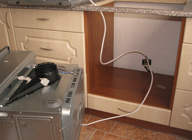 Подключение духового шкафа: тонкости и нюансы Ремонт и
