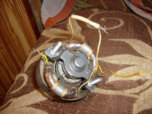 Замена электромотора