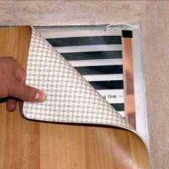 Как правильно стелить теплый пол под линолеум?