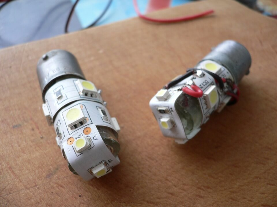 Пример лампочки для авто
